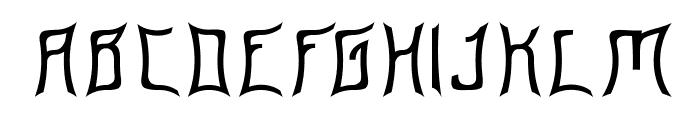 Floridashark Font UPPERCASE