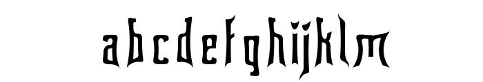 Floridashark Font LOWERCASE