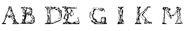 Flotner Font UPPERCASE