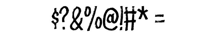 Flottenheimer DEMO Regular Font OTHER CHARS
