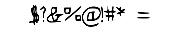 Flovio Font OTHER CHARS