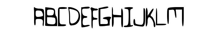 Flovio Font UPPERCASE