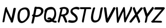 Flow Bold Font UPPERCASE