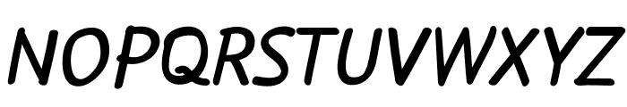 FlowExt-Bold Font UPPERCASE