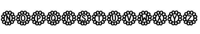 Flower Power Bold Font UPPERCASE