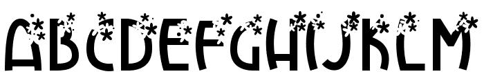 FlowerExplosion Font UPPERCASE