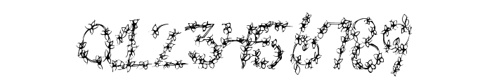 FlowerHeader Font OTHER CHARS
