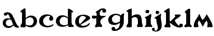FlowerPower Font LOWERCASE