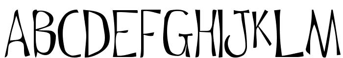 Flowerchild Plain Font UPPERCASE