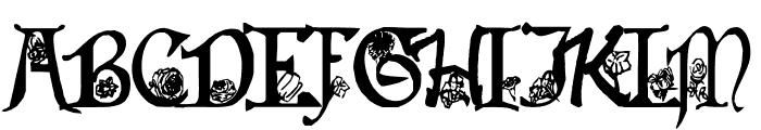 Flowers of Summer Font UPPERCASE