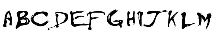 Floydian Font UPPERCASE