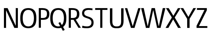 Fluent Sans Font UPPERCASE