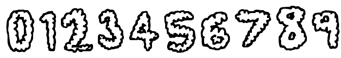 Fluffy Clouds Font OTHER CHARS