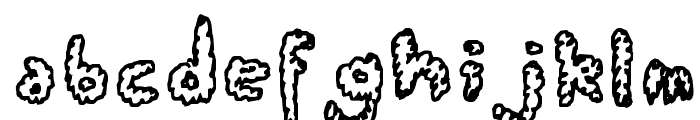 Fluffy Clouds Font LOWERCASE