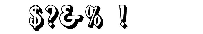 Flug Font OTHER CHARS