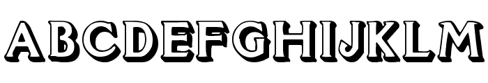 Flug Font UPPERCASE