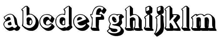 Flug Font LOWERCASE