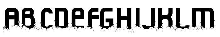 Fluid Christmas Font LOWERCASE