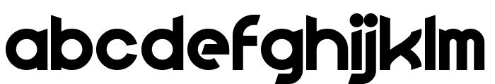 Fluid Lighter Font LOWERCASE