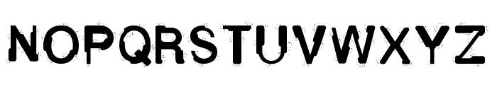 Fluid Maska Font UPPERCASE