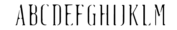 Fluid-light Font UPPERCASE