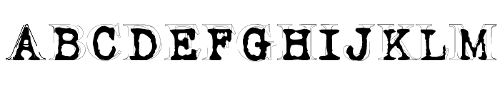 Fluoxetine Font UPPERCASE