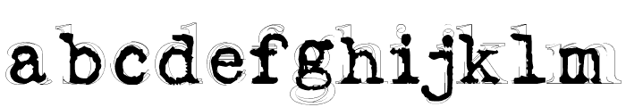 Fluoxetine Font LOWERCASE