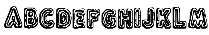 Flux Capacitor Font LOWERCASE