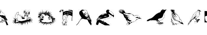 FlyBirdFly Font LOWERCASE