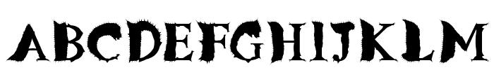 FlyLegs Font UPPERCASE