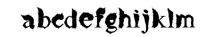 FlyLegs Font LOWERCASE