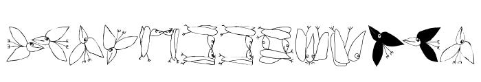 FlyOnYou Font UPPERCASE