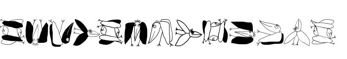 FlyOnYou Font LOWERCASE