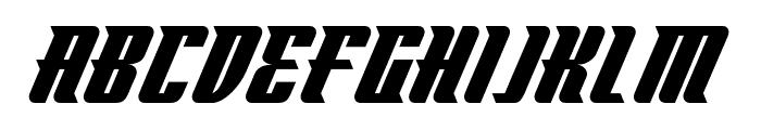 Flyboy BB Font UPPERCASE