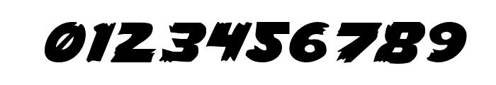 Flying Leatherneck Expanded Font OTHER CHARS