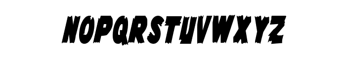 Flying Leatherneck Extra-condensed Font UPPERCASE