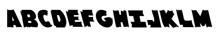 Flying Leatherneck Leftalic Font UPPERCASE