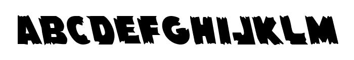 Flying Leatherneck Leftalic Font LOWERCASE