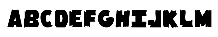 Flying Leatherneck Straight Font UPPERCASE