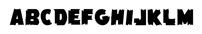 Flying Leatherneck Straight Font LOWERCASE