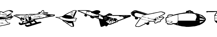 FlyingHistory Font LOWERCASE