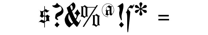 FlyingHollander Font OTHER CHARS