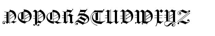 FlyingHollander Font UPPERCASE