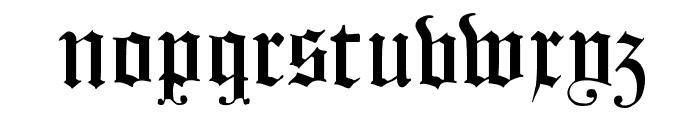 FlyingHollander Font LOWERCASE