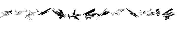 FlyingOne Font UPPERCASE