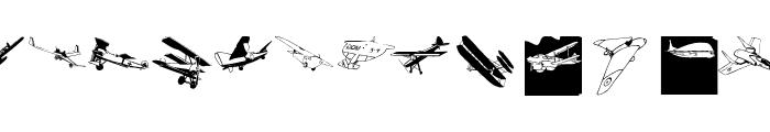 FlyingOne Font LOWERCASE
