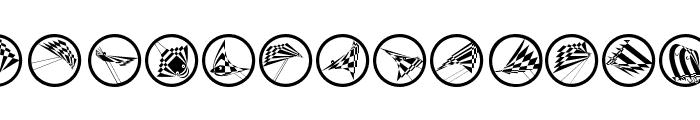 FlyingOpArts Font LOWERCASE