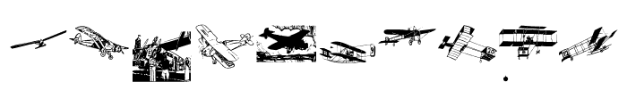 FlyingPioneers Font OTHER CHARS