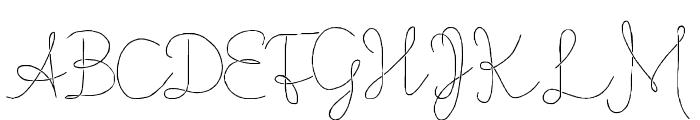 Flypflop Font UPPERCASE