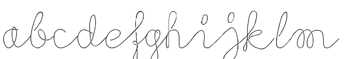 Flypflop Font LOWERCASE
